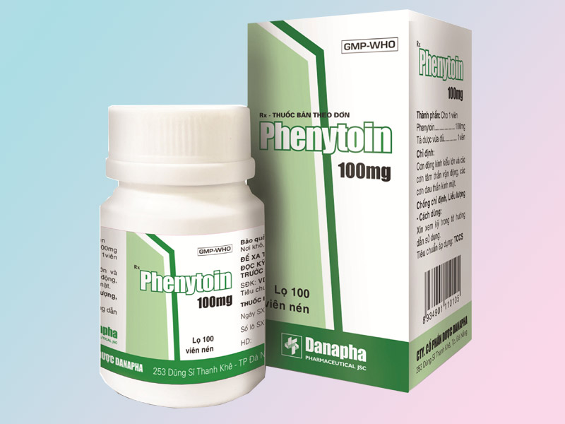 Phenytoin điều trị hiệu quả bệnh động kinh