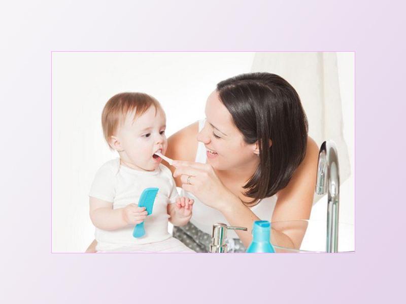Lưu ý cách chăm sóc miệng cho trẻ khi bị nấm