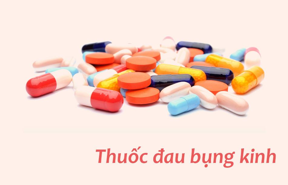 Sử dụng các thuốc làm giảm đau bụng kinh