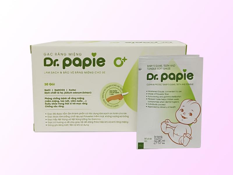 Gạc rơ lưỡi Dr Papie