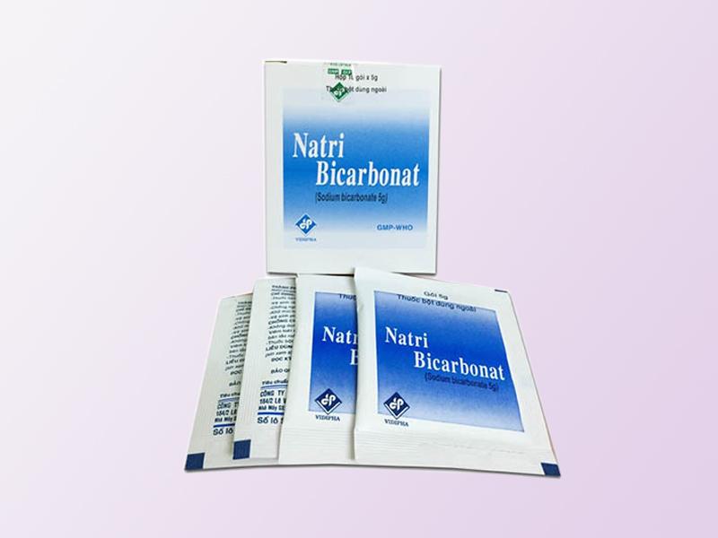 Thuốc chữa nấm lưỡi Natri Bicacbonat