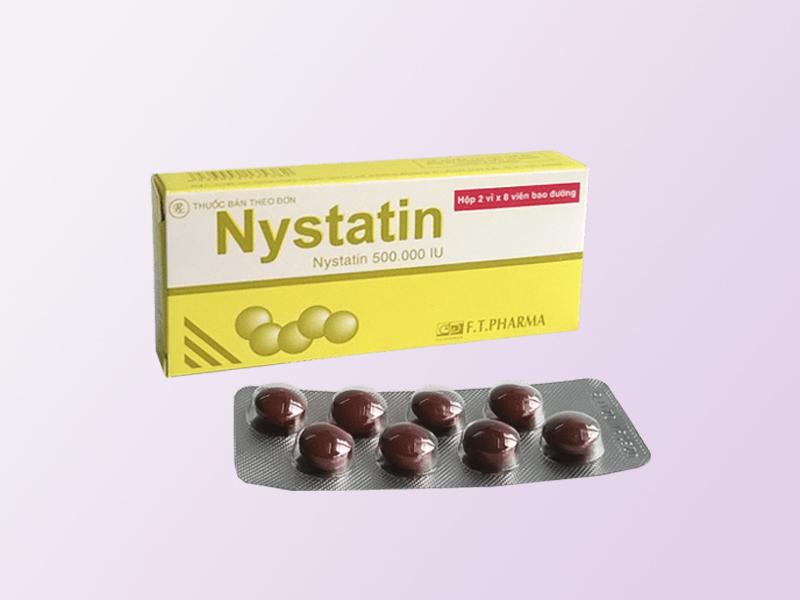Thuốc chữa nấm lưỡi Nystatin
