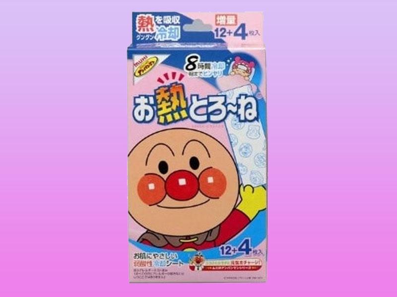 Miếng dán hạ sốt Muhi của Nhật