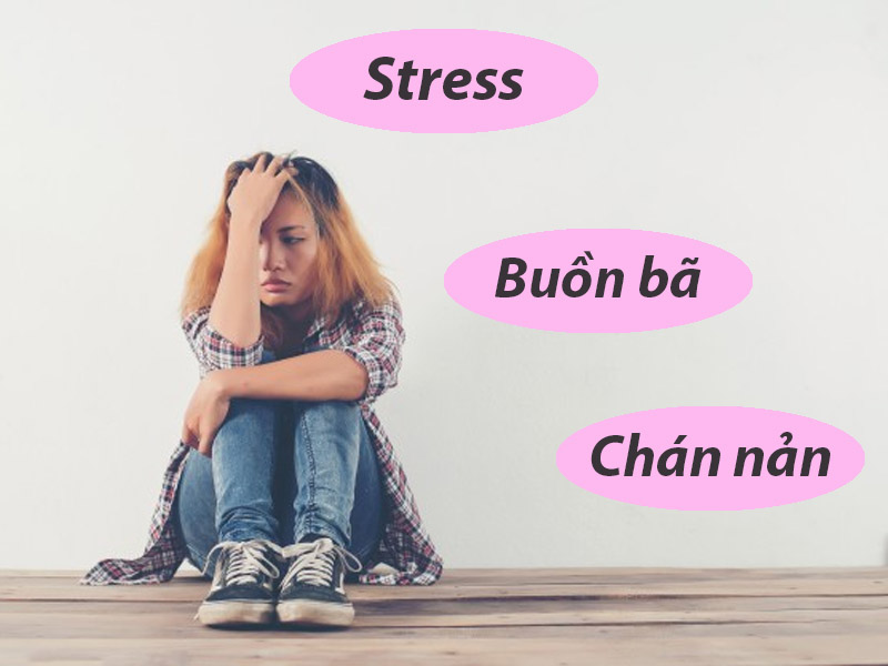 Khi bị trầm cảm, người bệnh có cảm giác buồn bã, chán nản, giảm hứng thú với mọi thứ trong cuộc sống
