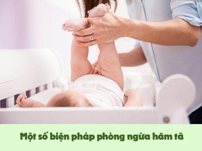 Một số biện pháp ngăn ngừa hăm tã ở trẻ em