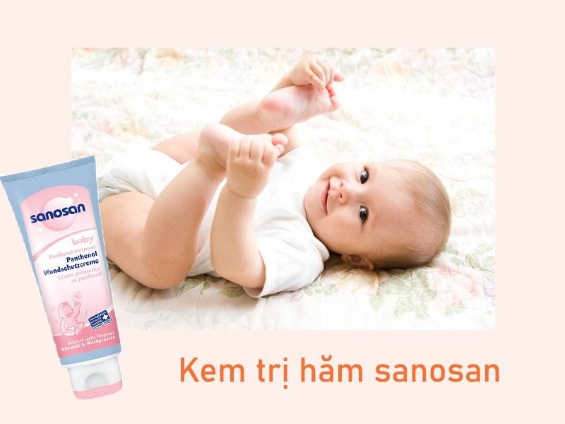 Kem chống hăm cho trẻ Sanosan