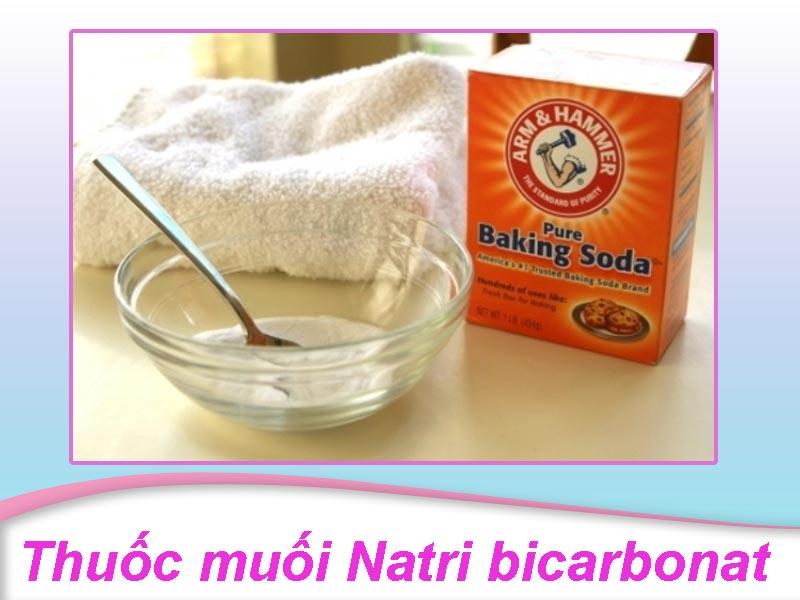 Thuốc muối Natri bicarbonat