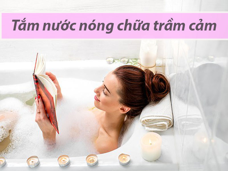 Tắm nước nóng có tác dụng tốt trong điều trị bệnh trầm cảm