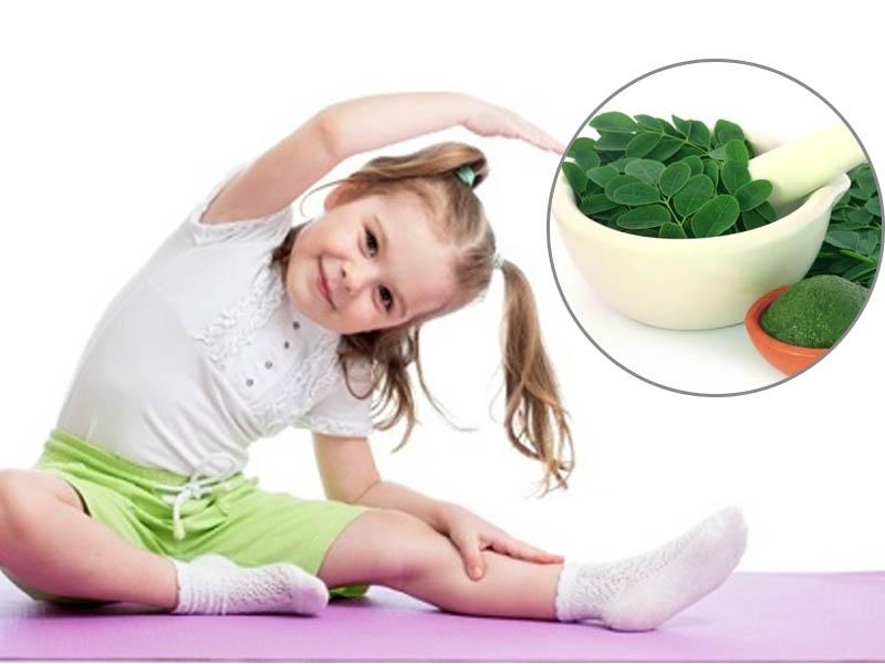 Cung cấp canxi giúp xương trẻ chắc khỏe