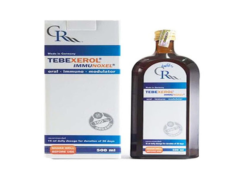 Tebexerol Immunoxel chai 500ml