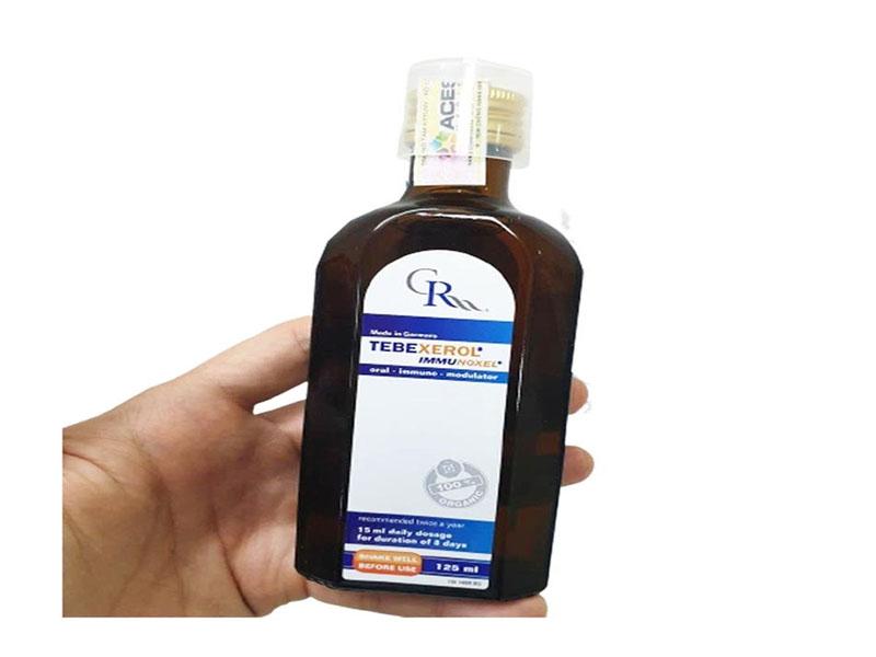 Liều dùng Tebexerol Immunoxel cho trẻ em