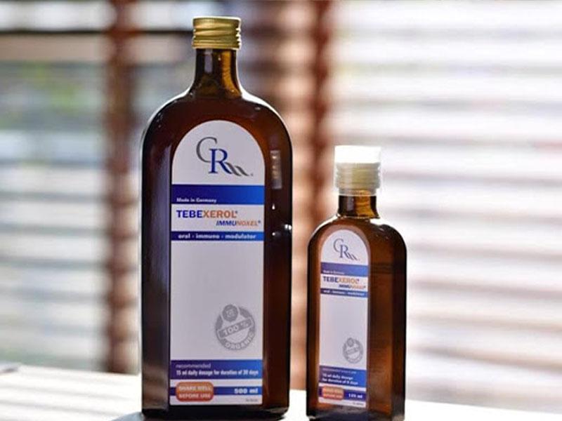 Tebexerol Immunoxel hiện có 2 dạng chai nhỏ 125ml và chai lớn 500ml